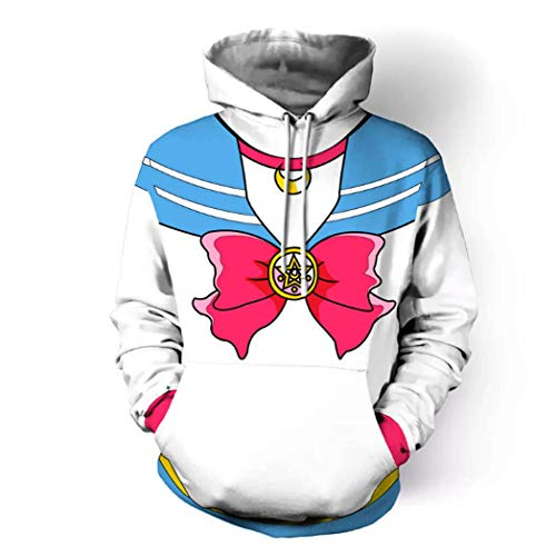 Harry Shops Halloween Hoodie Sailor Moon Hoodie B Cosplay Costume-Medium