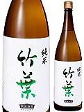 竹葉 純米酒 ちくは 1800ml 数馬酒造(石川県) 日本酒 清酒 1.8L ・リサイクル外箱(他銘柄等)での配送となります。 ・瓶色は変ることがあります