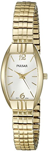 Pulsar Women's PRS670 Expansion Analog Display Japanese Quartz Gold Watch