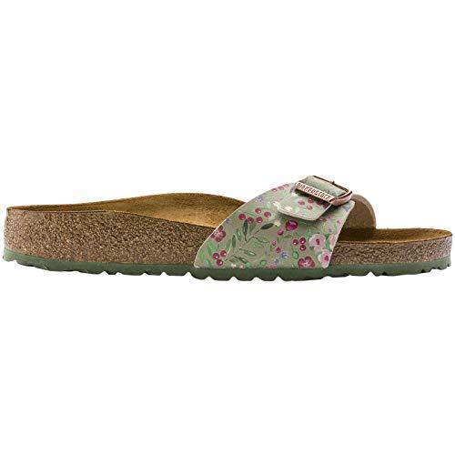 Birkenstock Unisex Madrid Birko-Flor Khaki Sandals 10 W / 8 M US