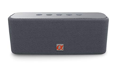 Alphasonik CORE Home Wireless Portable Speaker with HD Sound and Bass, Built-in Mic, Micro USB, Auxilliary 3.5mm and Built in 2000mah Long Lasting Battery
