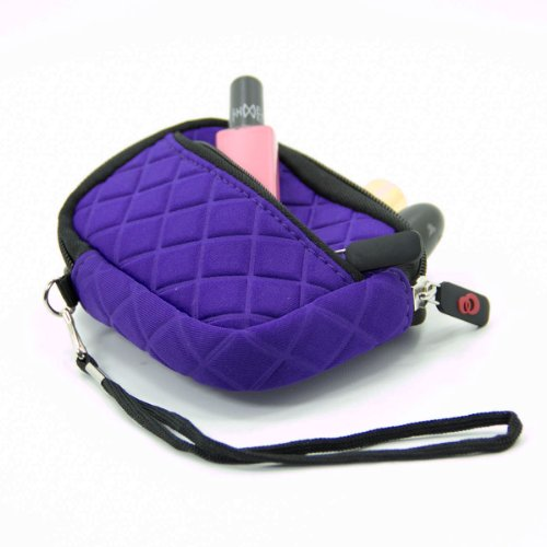 Cosmetic Case Lipstick Pouch in Purple