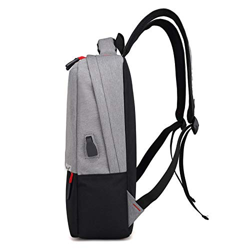 Bag Picnic Bag Charging Solid Backpack Black Fashion Outdoor Wearable Color Usb Casual red Men's Travel Zhjb Smart Computer Business Trend Breathable PwxAaUnO