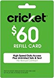 Cricket Refill Card $60 Cricket Wireless Refill Card $60