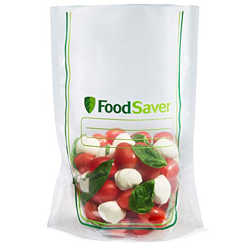 FoodSaver 2083546 Easy Fill 1-Gallon Vacuum Sealer Bags | Commercial Grade and Reusable | 10 Count