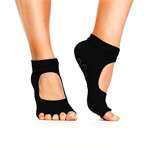 yoga-socks-non-slip-non-skid-slip-resistant-toeless-grip-sock-for-women-men-doing-yoga-and-pilates-b