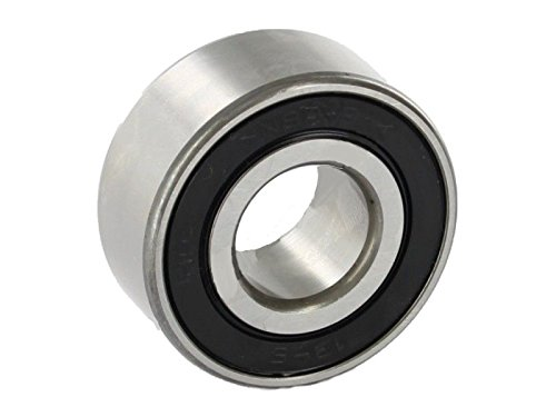 FAG Bearings 3211-BD-2HRS-TVH Angular Contact Bearing, 55 mm Bore, 100 mm OD, Double Lip Seals, 30 Degree Contact Angle, 1.33' Height, 4' Width, 4' Length, 55' ID, Polyamide