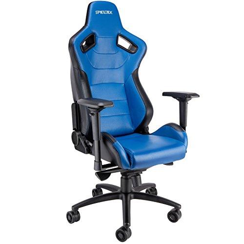 Spieltek Admiral Gaming Chair (Blue) Spieltek