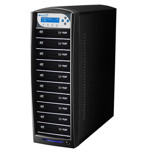 Vinpower SharkBlu 10 Target Blu-Ray DVD CD Stand-alone Duplicator + USB 3.0 + 500GB Hard Drive by Vinpower Digital (Image #4)