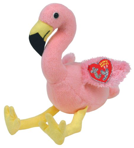 TY Beanie Babies 2.0 Splits the Pink Flamingo