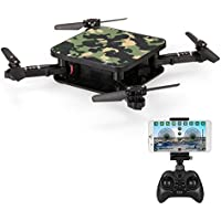 Goolsky SMRC S1 Wifi FPV 2.0MP Camera 3D Flip Altitude Hold Foldable Mini RC Drone Quadcopter