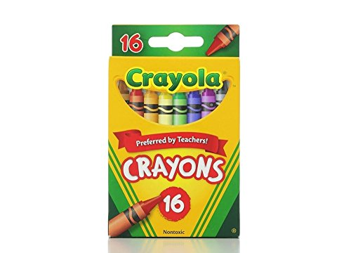 Crayola Classic Color Pack Crayons 16 ea ( Pack of 6)