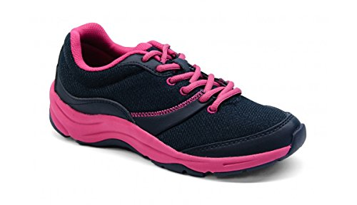 Womens Fitness Walking Shoe - Vionic Women's Action Kona Lace-up Walking Fitness Shoes Black 9 M US