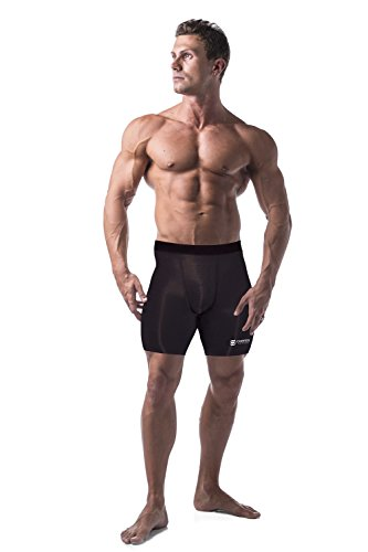 Copper Compression Recovery Shorts / Underwear / Tights / Boxer Briefs Fit...