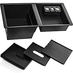 Center Console Insert Organizer Tray For 14-19 Silverado, Tahoe, Suburban, Sierra, Yukon, Escalate - Replaces Gm Factory Oem Part 22817343