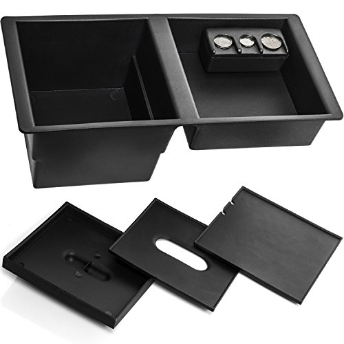 Center Console Insert Organizer Tray for Select GM Vehicles - Replaces 22817343 (Suburban Console)