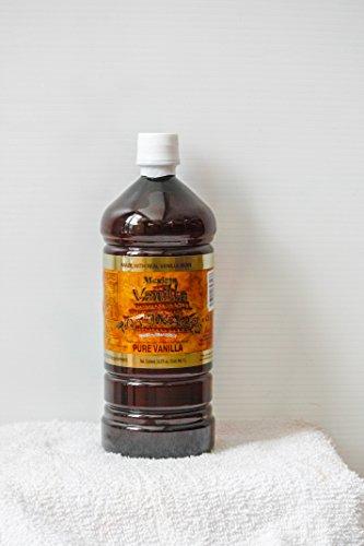 Mexican Vanilla Totonac's Pure Vanilla Flavoring, 33.2 Fluid Ounce by Mexican Vanilla Totonacs (Image #1)