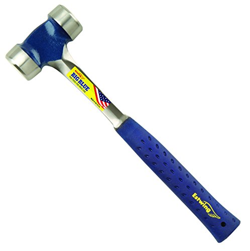 Estwing E3-40L 40 oz Lineman's Hammer 13.5-Inch Handle & Shock Reduction Grip