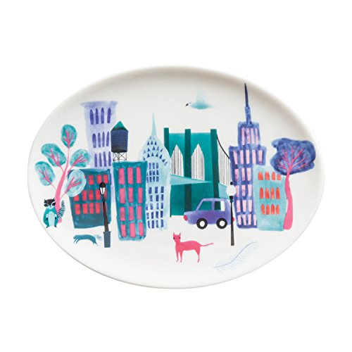 Collage City Tray with Gift Box ()