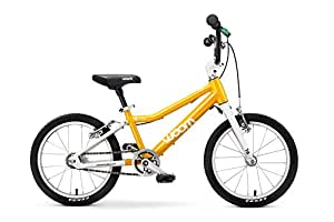 """Woom 3 Pedal Bike 16"""", Ages 4 to 6 Years, Yellow"""