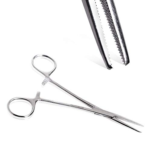 Covet Jewelry Stainless Steel Hemostat Straight Tip Forceps