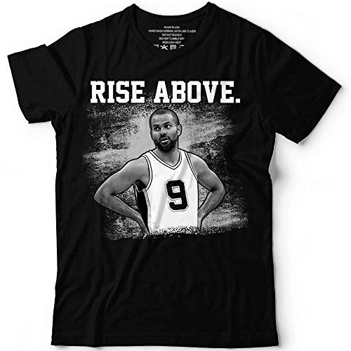 Parker-9 Rise Above Best-Tony Basketball Legend Champs Customized Handmade Hoodie/Sweater/Long Sleeve/Tank Top/Premium ()