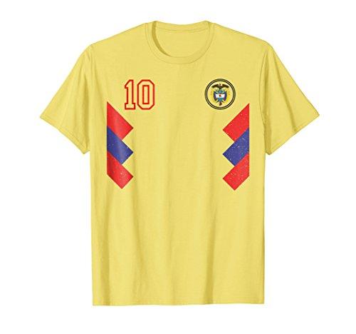 Retro Colombia Soccer Jersey Futbol T-Shirt 1990 2018 66d8d9a0d