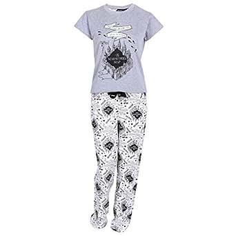 Imagen no disponible. Imagen no disponible del. Color: Harry Potter - Pijama - para mujer ...