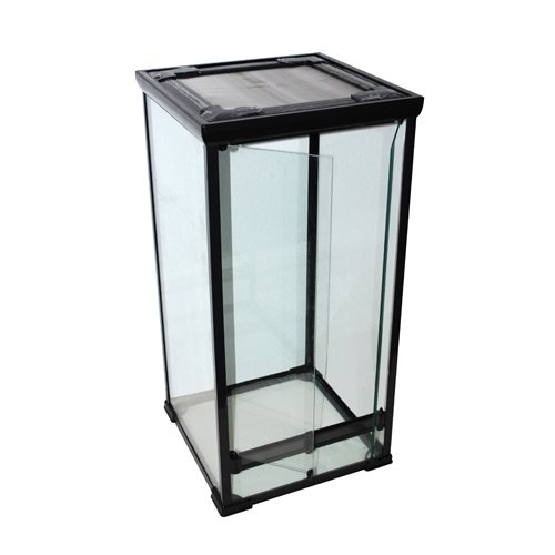 glas terrarium 50x50x100 cm f r cham leons schlangen gekkos und andere kletternde reptilien. Black Bedroom Furniture Sets. Home Design Ideas