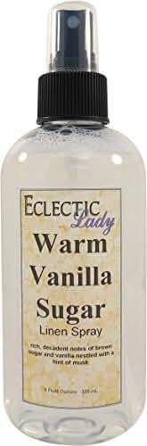Warm Vanilla Sugar Linen Spray, 8 ounces