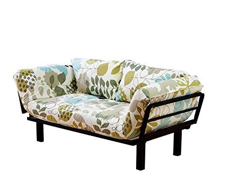 Kodiak Furniture Spacely Frame-Black Metal Finish-English Garden Mattress from Kodiak Furniture
