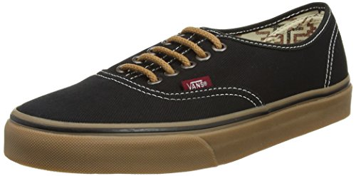 589ebb67e602f4 Vans Unisex Authentic (T G) Black Gum Skate Shoe VN-03Z3I3Z (MEN 7 WOMEN  8.5) - Buy Online in UAE.