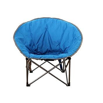 Folding Chair Health UK Chaise Pliante Bleu Ronde Paresseux De Salon En Plein Air Explorer