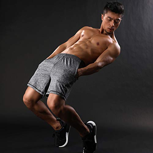 Kariwell Sports Men Casual Sports Pants - Gym Hip Hop Trousers Running Jogger Gym Sweatpants for Fitness Activity Running Hiking Kari-77