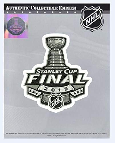 2019 Stanley Cup Final Patch Official Licensed Patch in Package with Holographic Seal ()