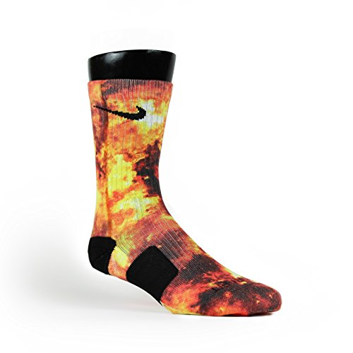 Price comparison product image HoopSwagg Detonation Custom Nike Elite Socks Medium