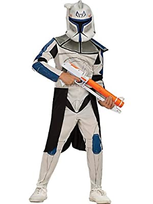 Star Wars Clone Wars Cone Trooper Captain Rex Child Costume