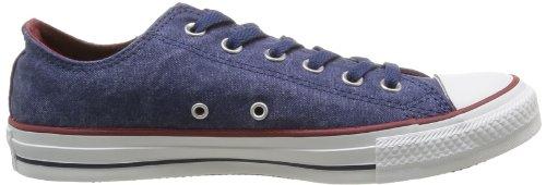 Converse  Ctas Washed Ox,  Unisex-Erwachsene All Star Ox Blau