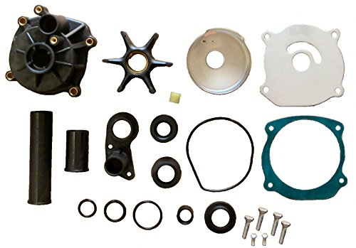 Water Pump Kit with Spray Hole Housing for Some Johnson Evinrude Replaces 5001595 435929