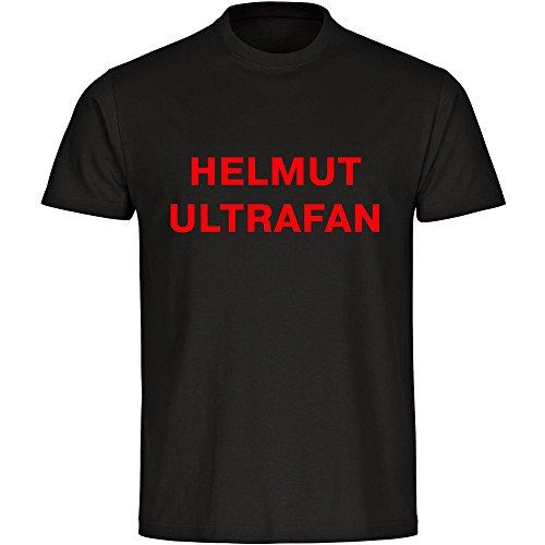 T-Shirt Helmut Ultrafan schwarz Herren Größe S bis 5XL