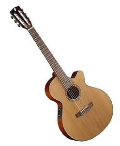 Cort Cec5-Nat Classic Acoustic/Electric Cutaway Guitar