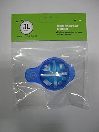 Golf Ball Marker Template | New Jl Golf Ball Line Marker Template Amazon Co Uk Sports Outdoors