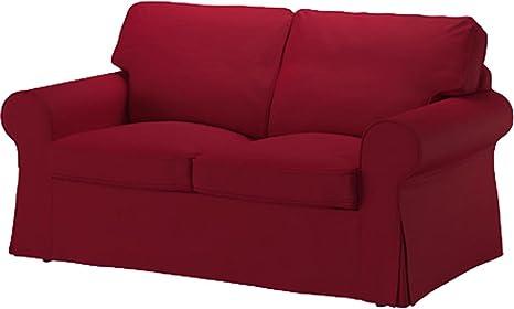 Cubierta / Funda solamente! ¡El sofá no está incluido! Sofá de dos asientos cama funda es EKTORP Funda para sofá cama para EKTORP de dos Asiento Sofá ...