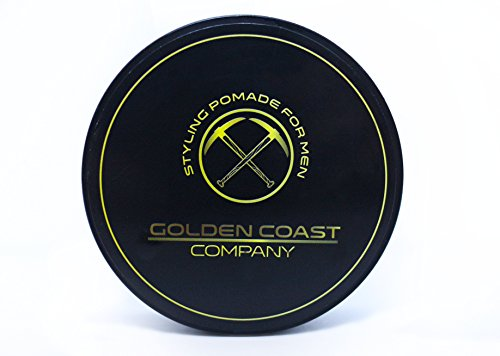 Hair Styling Pomade for Men 4oz Water Based - GOLDEN COAST COMPANY