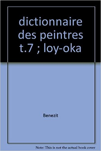 Dictionnaire critique et documentaire des peintres, sculpteurs, dessinateurs et graveurs de tous les temps et de tous les pays... pdf epub