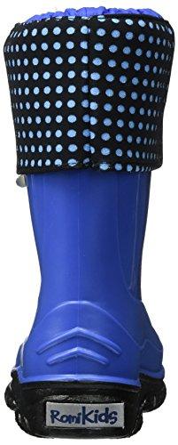 Pluie Kobalt 551 Bottes Lucy Enfant Mixte de kombi Blau ROMIKA 0CA66