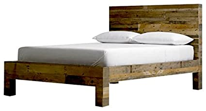 reputable site 7d973 391ac Amazon.com: Reclaimed Wood Bed: Kitchen & Dining