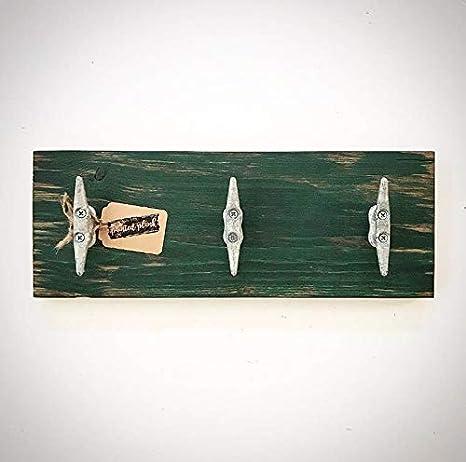 CELYCASY - Señal de Madera Envejecida con diseño de muelles ...