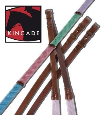 Kincade Pastel Rainbow Reins 5/8in x (Riding Rein)