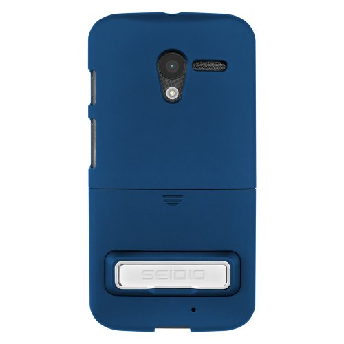 Seidio Innocase Surface Case - Seidio CSR3MTXPK-RB SURFACE Case with Metal Kickstand for use with Motorola Moto X - Carrying Case - Retail Packaging - Royal Blue